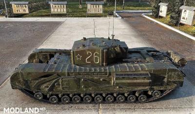 Sgt_Krollnikow51's Skin for the Churchill MK.III LL (Lend Lease) heavy Premium Tank 2.4 [1.3.0.1], 4 photo